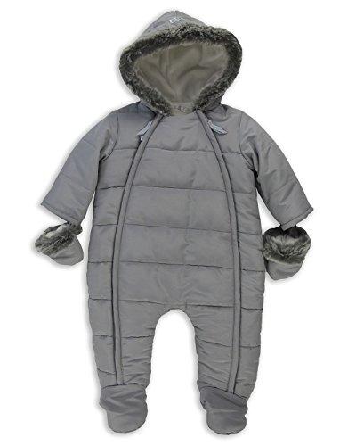 The Essential One - Baby-Unisex - Schneeanzug - Grau - 50-56cm - EO246