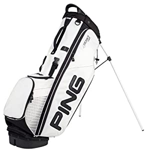 New Ping 2016 Mens 4-Series Limited Tour Edition Stand Bag (White)