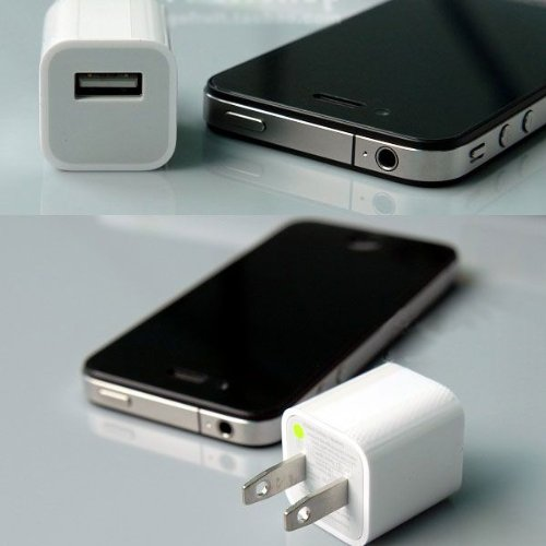 iPhone充電器 キューブボディ スマートフォン/iPod/iPhone用CUBE型AC充電器