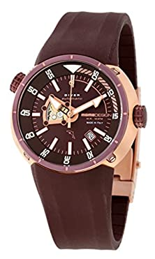 buy Momo Design Diver Pro Automatic Brown Dial Brown Rubber Mens Watch Md1007Rp-11