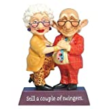 Swinging Couple Figurine