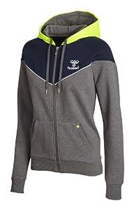 Hummel Damen Sweatshirt Hope Zip Jacket, medium melange, XS, 36-288-2800