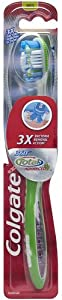 Colgate 360 Total Advanced Full Head Toothbrush, Medium