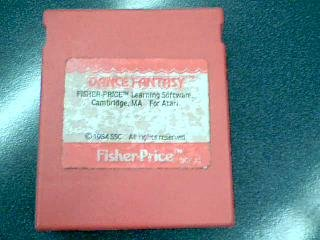 1984 SSC Fisher-Price Dance Fantasy Learning Software #DCF-AT For Atari 400/Atari 800