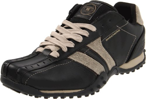 Skechers Men'S Urbantrack Forward Casual Lace-Up,Black/Taupe,10 M Us front-941466
