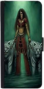 Snoogg Indian Gothic Goddess 2871 Designer Protective Flip Case Cover For Sam...