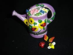 Gardening Flower Watering Can Trinket Box