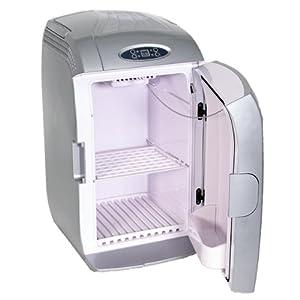 TecTake Transportabler Minikühlschrank 20 Liter 230Volt + 12Volt mit Temperaturanzeige, kühlt oder wärmt by TecTake