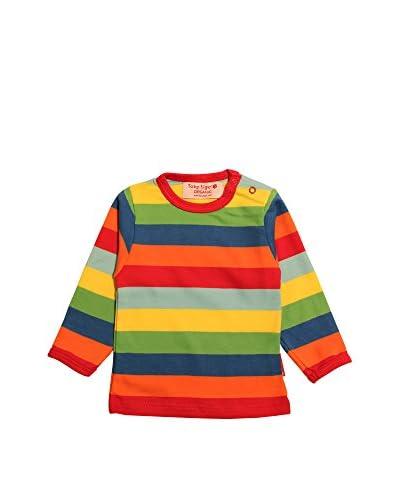 Toby Tiger Longsleeve Lsdmultst [Multicolore]