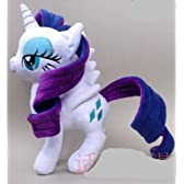 My Little Pony Rarity Plush Doll 12inches,High Quality by Hong Te [並行輸入品]