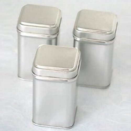 3 Oz. Mini Square Favor Tins (Pack Of 12)