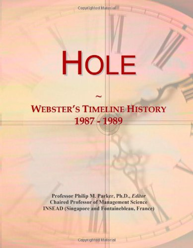 Hole: Webster'S Timeline History, 1987 - 1989