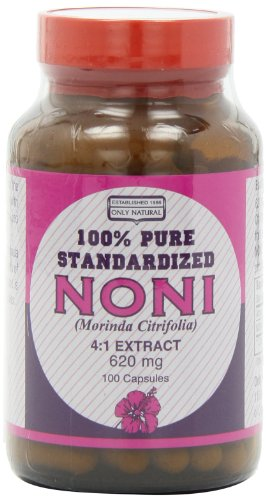 Only Natural Noni 4:1 Extract (620 Mg.), 100-Count