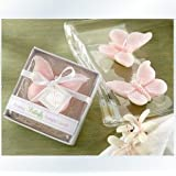 Babies Bloom Imaginative Pink Butterfly Candle Favor