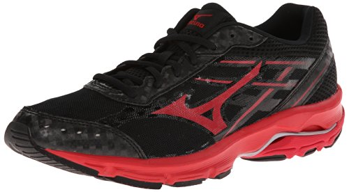 Mizuno Men'S Wave Unite 2 Training Shoe,Black/Red,10 M Us