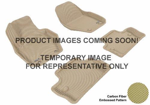 3D MAXpider U-ACE CADILLAC CTS 2009-2013 KAGU TAN R1 L1CD00411502 Floor Mat