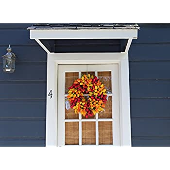 Blush Tulip Front Door Wreath 19 Inch - Stunning Spring Front Door Wreath