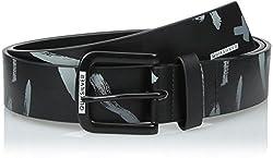Quiksilver Men's Re Mix Belt, Black, Large/36
