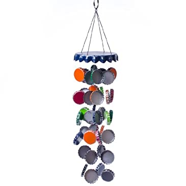 Bottle cap wind chime wind chimes for Bottle cap wind chime