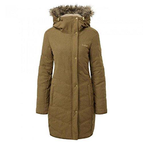 Craghoppers Damen Delta Jacket Dirtyolivmrl Outdoor Jacke