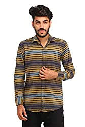 Snoby multicolor cotton blend shirt SBY8084