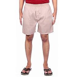 Aaduki Men's Cotton Shorts_Beige_XL