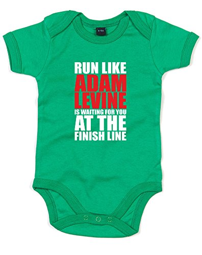 run-like-adam-levine-is-waiting-printed-baby-grow-kelly-green-white-red-12-18-months