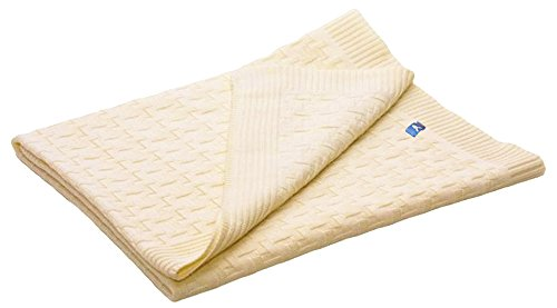 Wallaboo Baby Blanket Eden, Natural