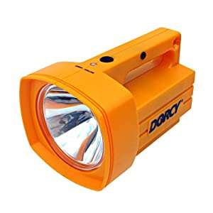 Dorcy 41-1035 Weather Resistant Rechargeable Xenon Flashlight Lantern with Spotlight,... by Dorcy