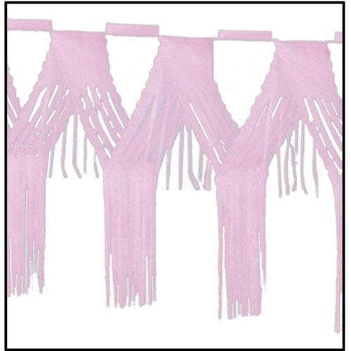 Beistle 55523-P Drop Fringe Garland, 20 by 12-Feet