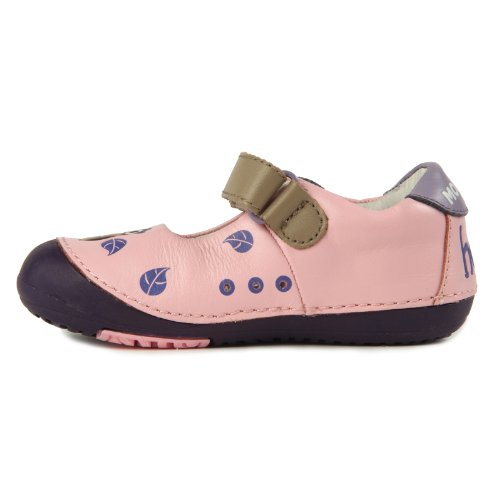 Momo Baby Girls First Walker Toddler Spotted Owl Pink Mary