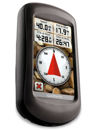 Garmin Oregon 550 Waterproof Hiking GPS