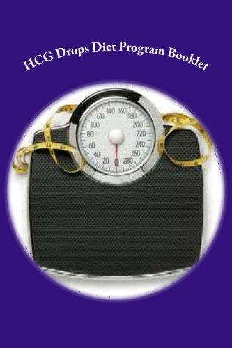 HCG Drops Diet Program Booklet HCG Diet Universe Volume 1