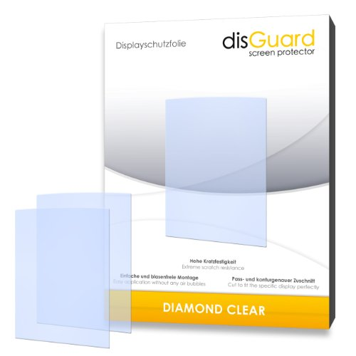 2 x disGuard Diamond Clear Displayschutzfolie