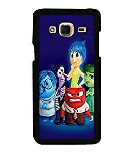 printtech Disney Inside Out Back Case Cover for Samsung Galaxy J3 Pro