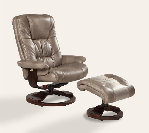Swivel Recliner And Ottoman front-1065715