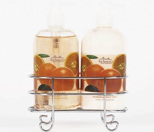 san-francisco-soap-company-hand-lotion-and-soap-caddy-set-mandarin-by-san-francisco-soap-company