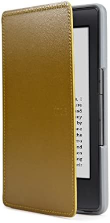 Amazon Kindle Leather Cover, Olive Green (will only fit Kindle)
