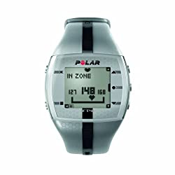 Polar FT4M Heart Rate Monitor (Silver/Black)