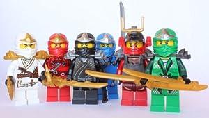 LEGO Ninjago - Samurai X (Nya) + 5 ZX Ninjas - Lloyd, Kai, Cole, Jay & Zane