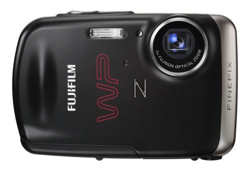 Fujifilm FinePix Z33WP 10 MP Waterproof Digital Camera with 3x Optical Zoom (Black)