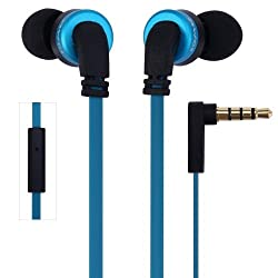 "WireSwipeâ""¢ Top Selling Original ES-13i Awei Ultimate High Performance in-Ear Headphones - (Black & Blue) - 1 Year Warranty"