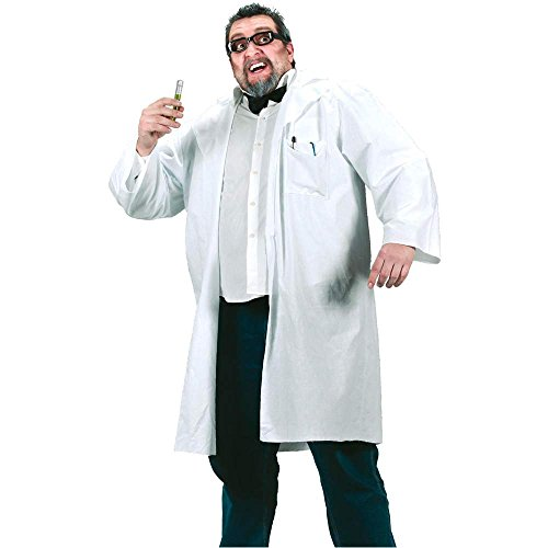 Mad Scientist Lab Coat Plus Size Costume - Plus Size