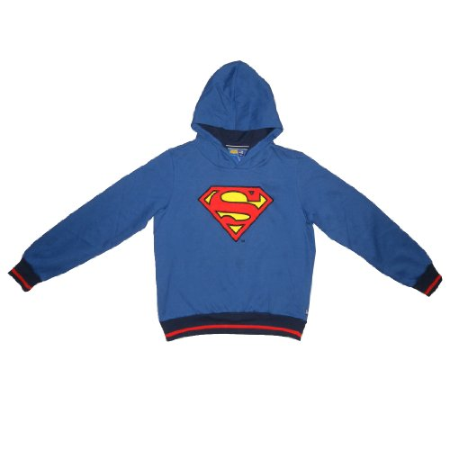 LIMITED-EDITION-DC-COMICS-JUSTICE-LEAGUE-Jungen-Superman-Kapuzenpulli-Sweatshirt-Jacke