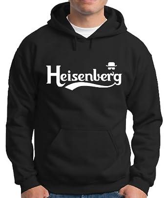 Touchlines Herren Kapuzenpullover Heisenberg Fly Sweatshirt, black, S, B130513KS