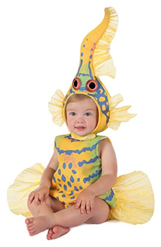 Anne Geddes Yellow Goby Fish Baby Infant Costume - Baby 6-12