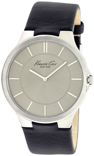 Kenneth Cole New York Men's KC1847 Slim Grey Dial Silver Accent Watch