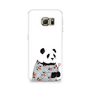Motivatebox- Panda Grandma Premium Printed Case For Samsung S7 -Matte Polycarbonate 3D Hard case Mobile Cell Phone Protective BACK CASE COVER. Hard Shockproof Scratch-