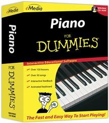 Popular Emedia Music Corp Piano For Dummies 150 Step-By-Step Video-Enhanced Lessons Sm Box