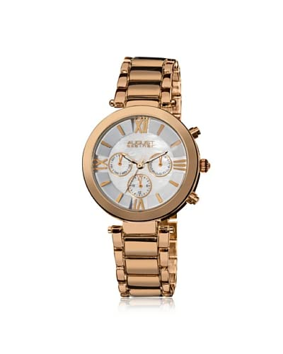 August Steiner Women's AS8049RG Women's Step Dial Multifunction Watch
